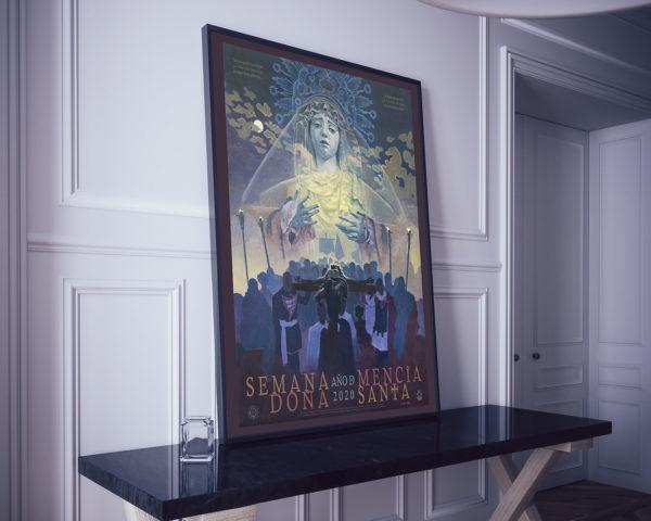 Impresión. Cartel Semana Santa Doña Mencía 2020.