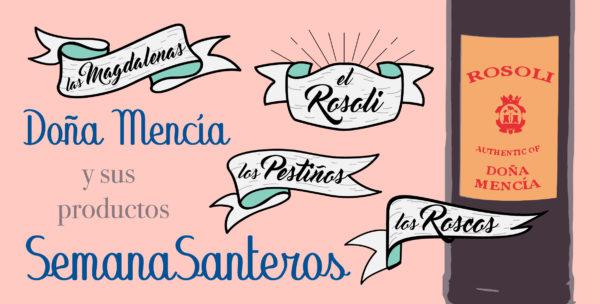 Diseño gráfico. Rosoli Doña Mencía.