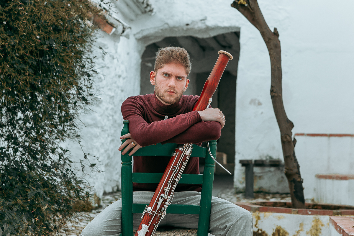 Fotografía artística. Niño Rubén, Fagot Flamenco.