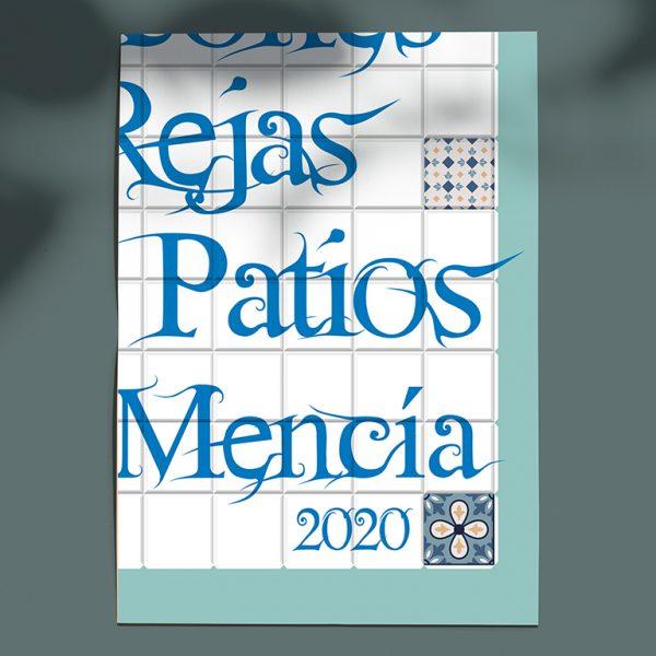 Diseño gráfico. Concurso de balcones, rejas y patios, Ayto. de Doña Mencía.