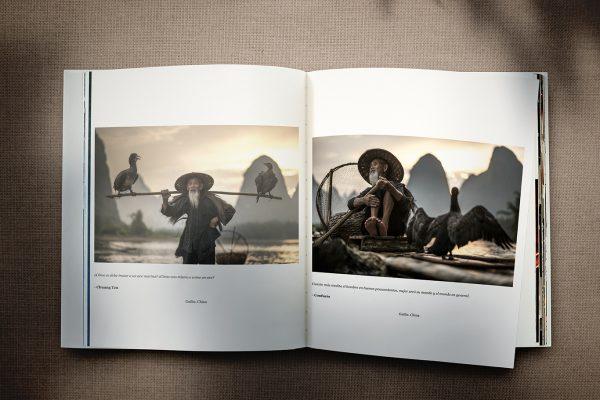 Diseño e impresión de libro en tapa dura. Asia, Bambú, All These Humans