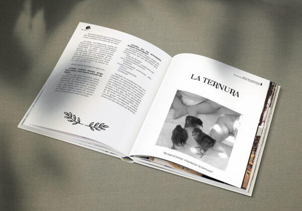 """Diseño e impresión de libro. Diario del confinamiento, Escuela de Adultos """"Juanita la Larga"""", Doña Mencía."""