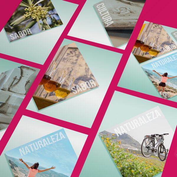 Diseño de imagen. Turismo de Doña Mencía.